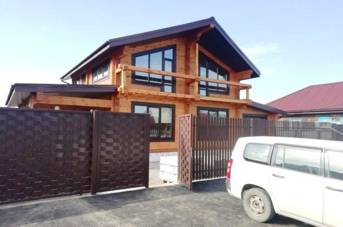 Дом с гаражом в Минусинске