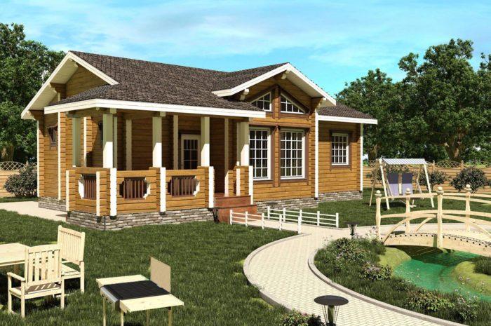 Проект дома 83,04 м2 Абакан