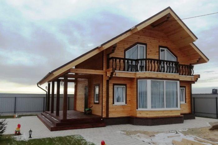 Загородный дом в Завидном по проекту Сапсан-2