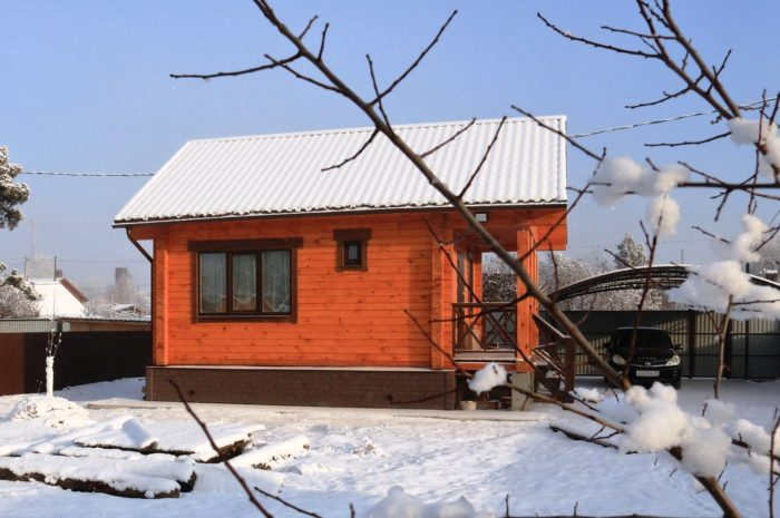 Дачный дом 35 м2 на Нижней Согре