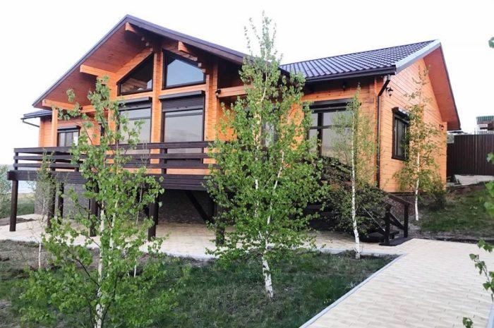 Загородный дом на озере Беле