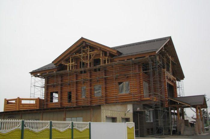 Дом из кедра d40 в Черногорске