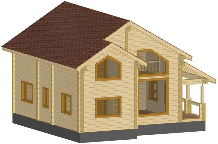 Проект дома 183,78 м2 Енисей
