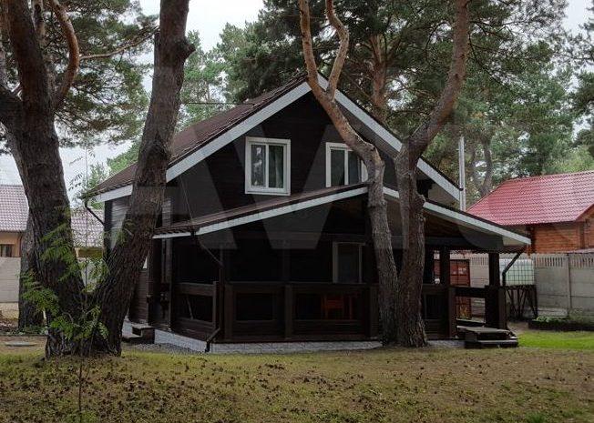 Загородный дом из бруса в Тагарском